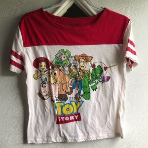 Rue 21 Toy Story Cropped Tee